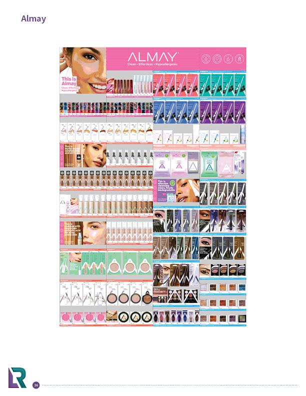 cosmetics planograms